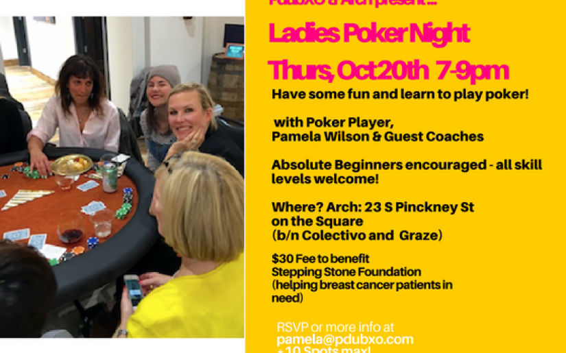 ladies poker night oct